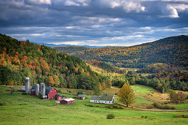 Autumn at Hillside Acres Farm by Rick Berk